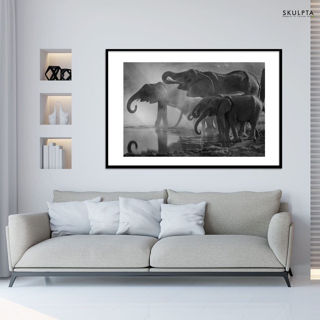Skulpta Photography Fine Art Framed bw_32