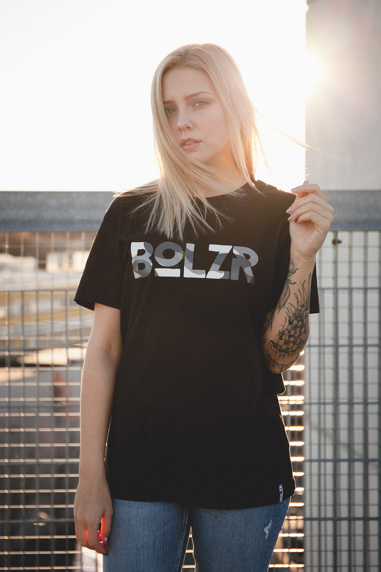 Bolzr T-Shirt | Girls | Schwarz & Camou