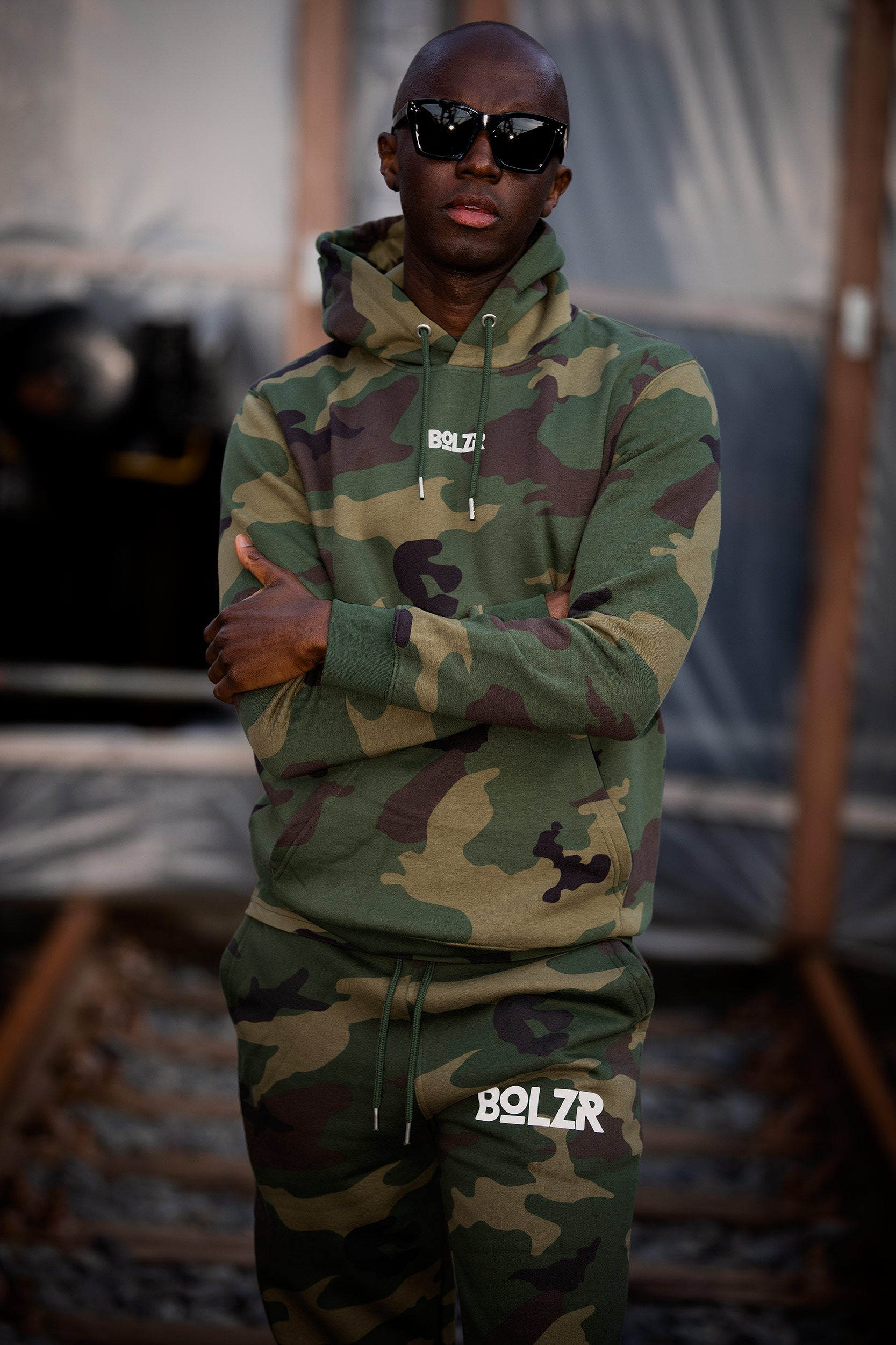 Bolzr Hoodie | Camouflage