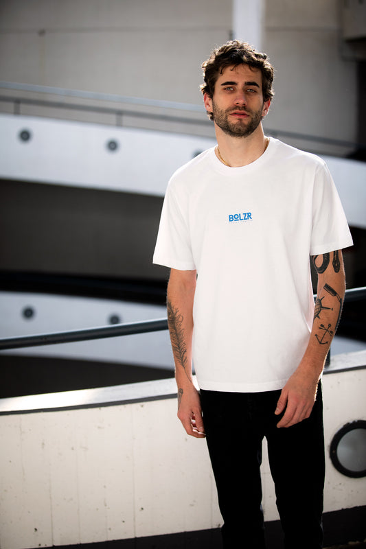 Bolzr Oversized Shirt | Gods Plan Collection | Weiß