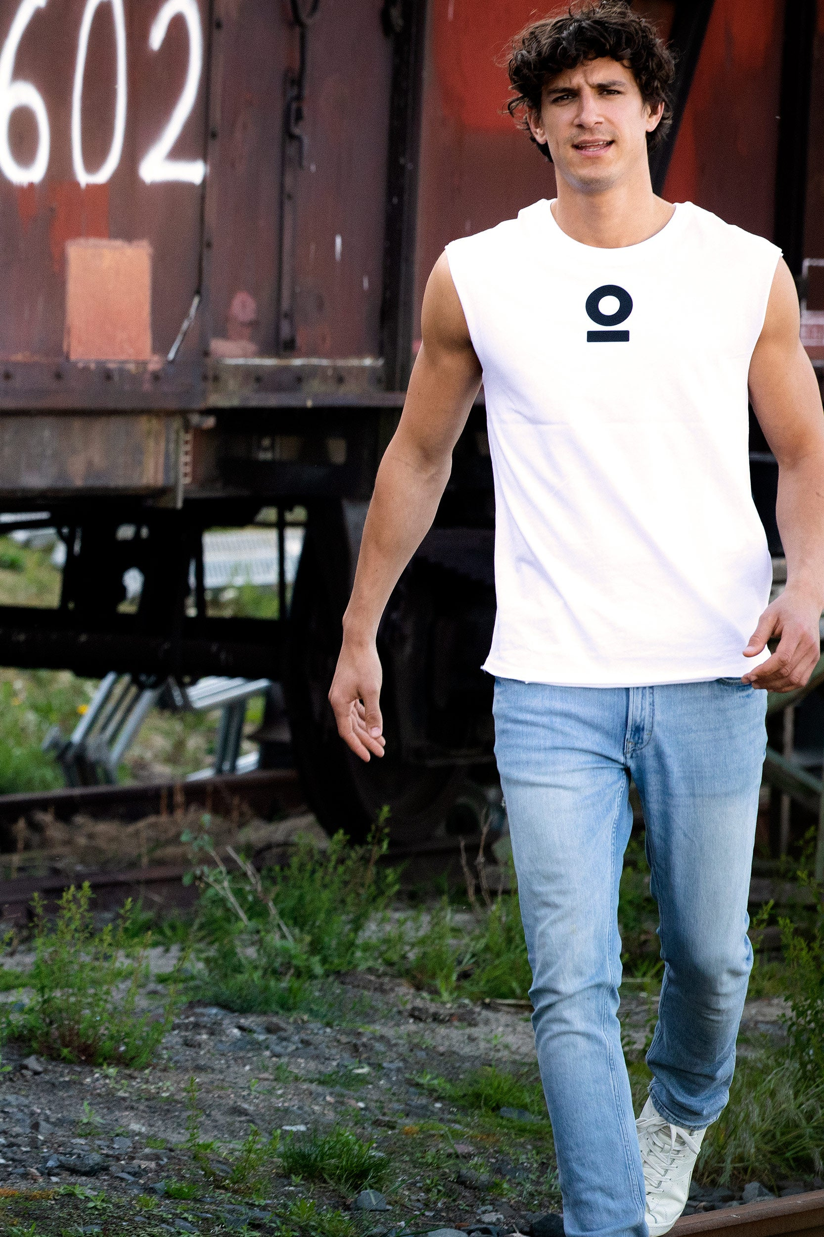 Bolzr T-Shirt Sleeveless | Weiß