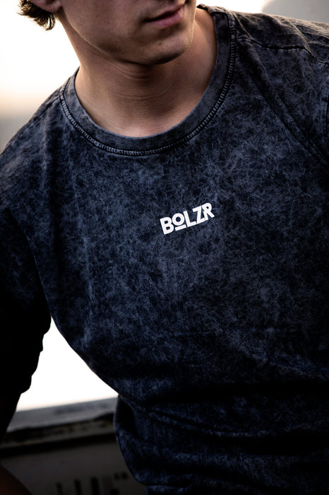 Bolzr T-Shirt | Acid Washed