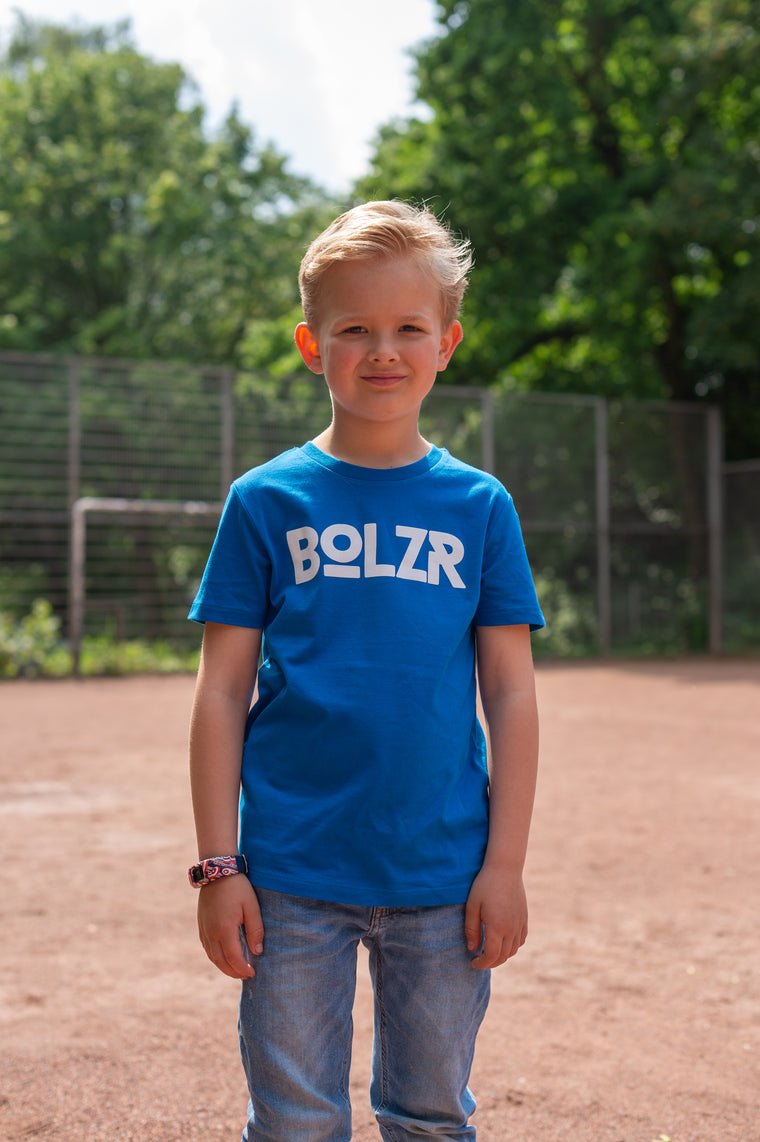 Bolzr T-Shirt KIDS | Royalblau