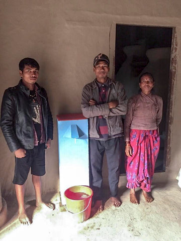 Hope for Nepal, Nepali Family, Alpaca Expedition Outfitters