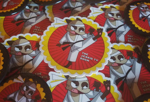 Karate Cat Stickers! 3 for 7 bucks!