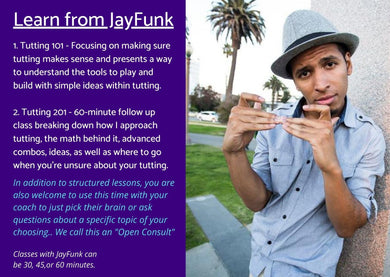 Tutting Class with Jayfunk