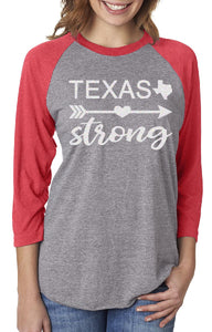 Three Quarter Length Texas Strong Shirt