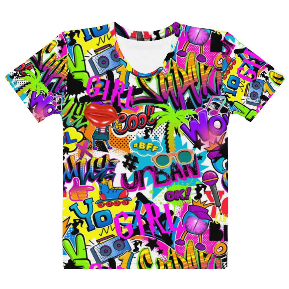 Graffiti Girl T-shirt