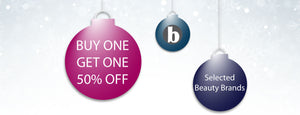 Buy One Get One 50% Off on selected Brands