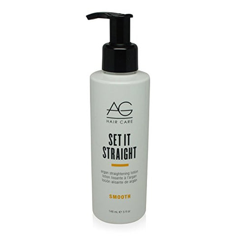 AG Hair Set It Straight Argan Straightening Lotion
