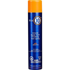 It's a 10 Miracle Super Hold Finishing Hairspray Plus Keratin