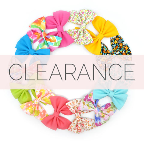 CLEARANCE BOWS & BOW TIES