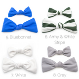 Swim Knot Bows in 12 colors