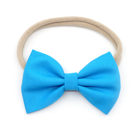Cerulean Belle Bow, Classic Hairbow