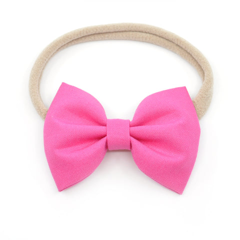 Fuchsia Pink Belle Bow