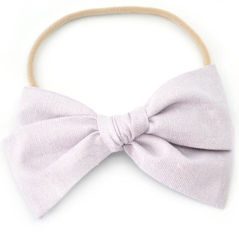 Lilac Shimmer Rona Bow