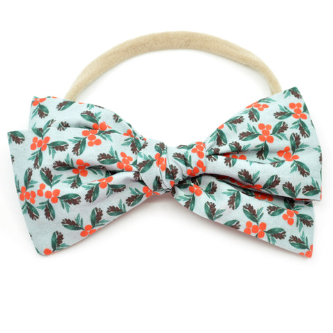 Holly Mistletoe Rona Bow