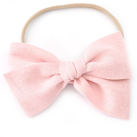 Pink Shimmer Rona Bow