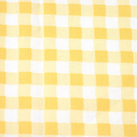 Yellow Gingham Bow Tie OR Anna Bow