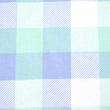 Mint & Periwinkle Plaid Bow Tie OR Anna Bow
