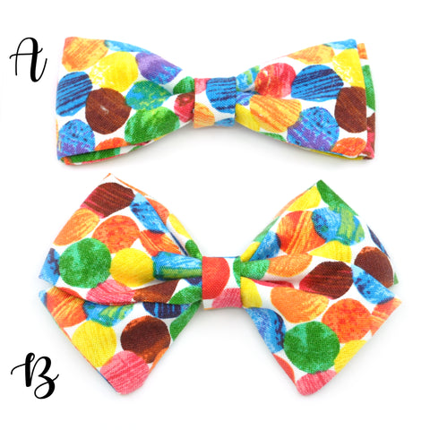Very Hungry Caterpillar Bow Tie OR Anna Bow