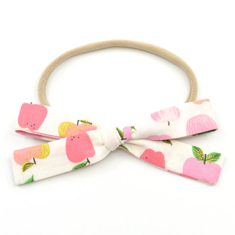 Pink Apples Leni Bow