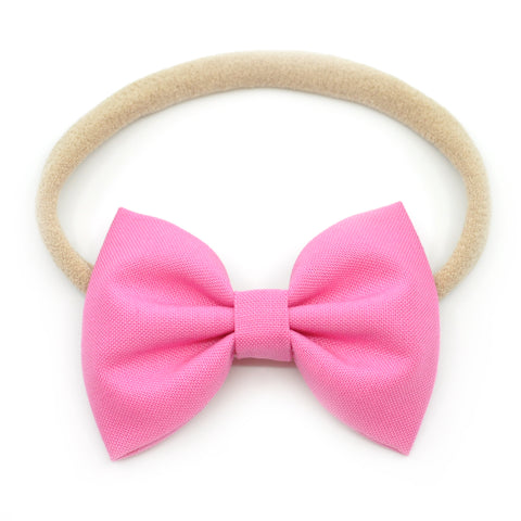 Pink Belle Bow, Tuxedo Bow
