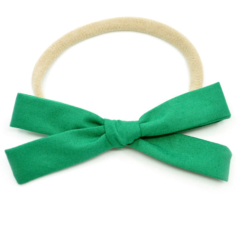 Emerald Green Leni Bow