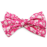 Fuchsia Pink Floral Rona Bow