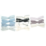 Linen Leni Bow in 11 colors, Newborn Headband or Clip
