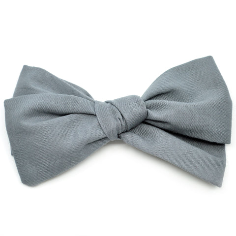 Pewter Gray Rona Bow