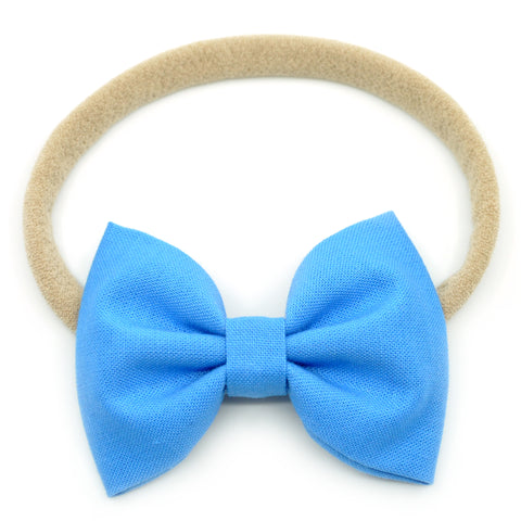 Carolina Blue Belle Bow, Tuxedo Bow