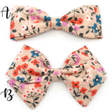 Wheat Floral Bow Tie OR Anna Bow