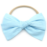 Ice Blue Rona Bow