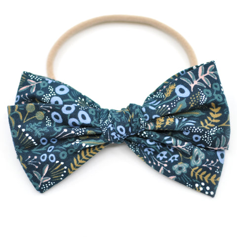 Tapestry in Navy Rifle Paper Co Rona Bow