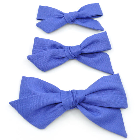 Bluebonnet Evy Bow, Newborn Headband or Clip