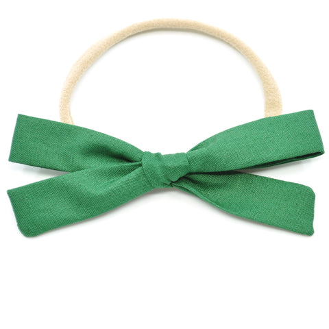 Evergreen Leni Bow, Headband or Clip