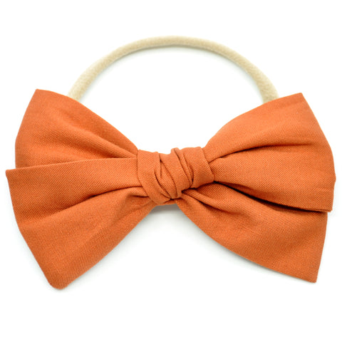 Burnt Orange Rona Bow