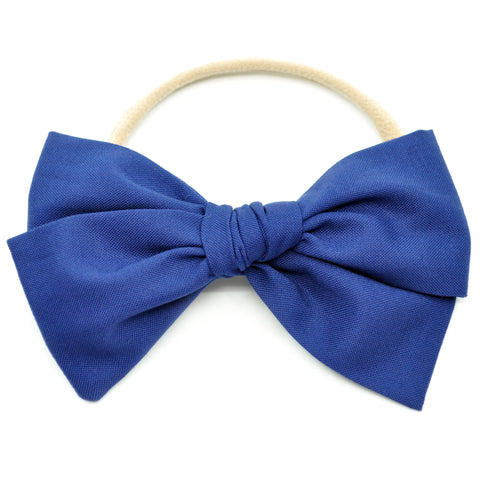 Midnight Blue Rona Bow