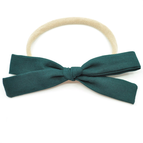 Spruce Leni Bow, Infant or Toddler Hair Bow
