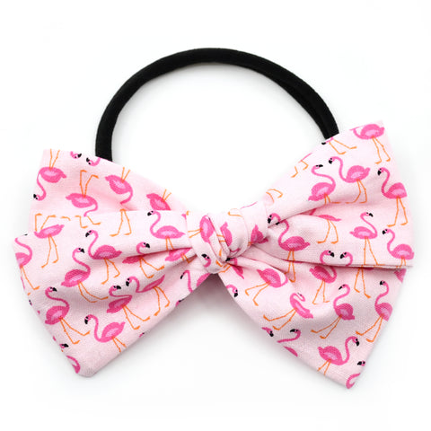 Pink Flamingos Rona Bow