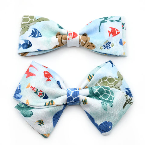 Marine Life Bow Tie OR Anna Bow