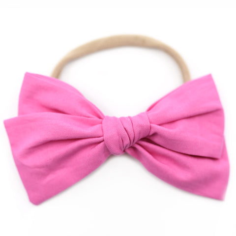 Pink Taffy Rona Bow