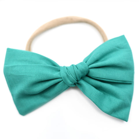 Jade Green Rona Bow