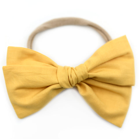 Honey Mustard Rona Bow