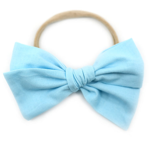 Baby Blue Rona Bow