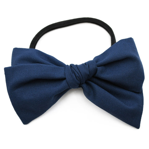 Navy Blue Rona Bow