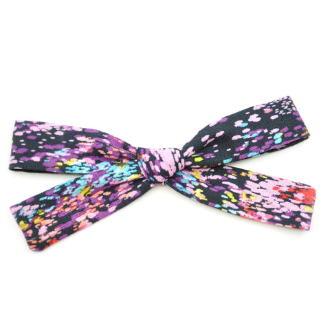 Watercolor Paint Splatter Leni Bow