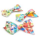 Paint Splatter Evy Bow, Infant Headband