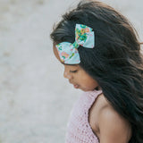Rosa in Periwinkle Rifle Paper Co Bow Tie OR Anna Bow